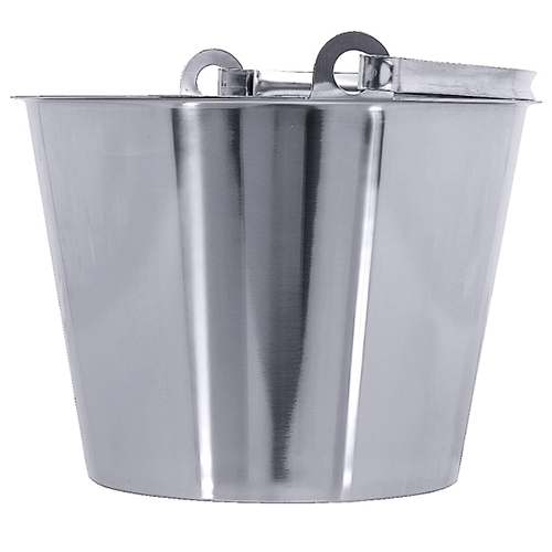 edelstahl eimer 10 liter ohne bodenreifen schwere qualit t eimer. Black Bedroom Furniture Sets. Home Design Ideas