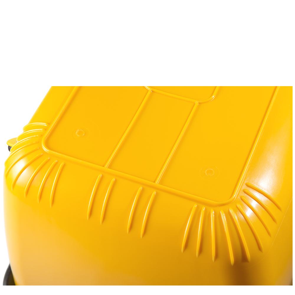 Mörtel-Kasten 200 l , kranbar, gelb, TÜV mit Stahlrohrrahmen - Eimer ...