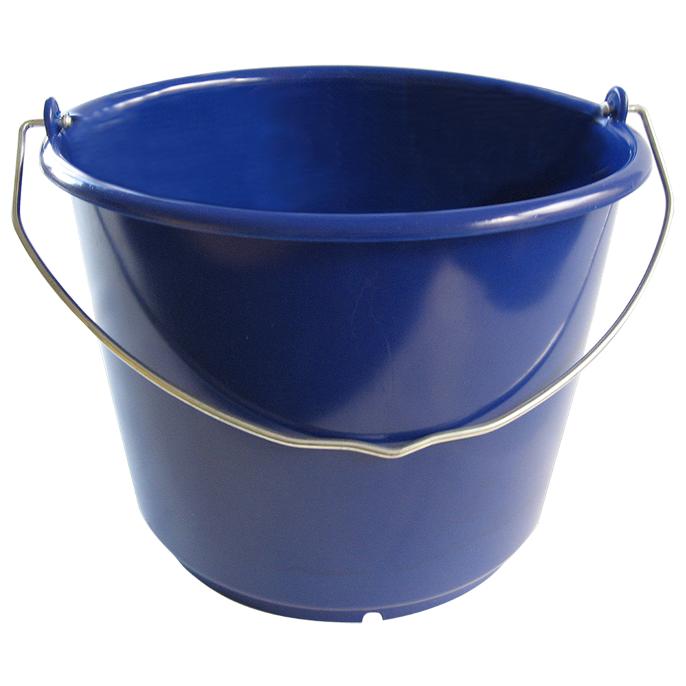 eimer 10 liter extra stabil ultramarinblau aus hd pe extra stabil www eimer. Black Bedroom Furniture Sets. Home Design Ideas